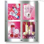 Multi Graphic Magic Mirror LED Slim Light Box