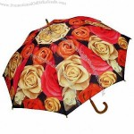 Multi Rose Floral Umbrella