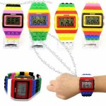 Multifunction LCD Watch with Week day and Data Display