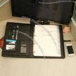 Multifunction Portfolio with a Calculator and Notepad