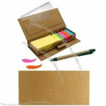 Multifunction Recycled Cover Notepad