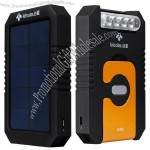Multifunction Solar Power with Hook and Flashlight