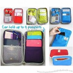 Multifunction Travel Wallet Passport Holder Stationery Case