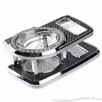 Multifunctional Design Car Drink Holder With 32 Glass-diamond Crystals Black