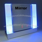 Multifunctional Sound Control Mirror Table Clock