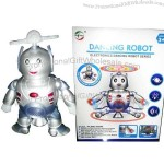 Music and Light Robot Toy