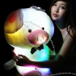 Music Luminous Plush Pig