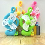 Music Note Shaped Gift Fan
