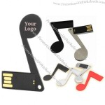 Musical Note USB Flash Drive