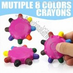Mutiple 8 Colors Crayons