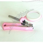 Nail Clip With Magnifier