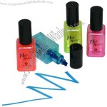 Nailvarnish Bottle Highlighter Pens