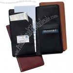 Nappa Leather Oversized Airline Ticket & Passport Holder