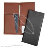 Nappa Leather RFID Blocking Passport Ticket Holder