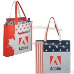 National Flag Non-Woven Convention Tote Bag