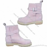 Natural Rubber Outsole Nubuck Leather Safety Shoes of Goodyear Welt Construction