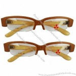 Nature Wood sunglasses with two tone