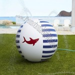 Navy Shark Sprinkler Ball