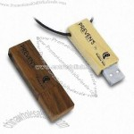 Neck chain Wooden USB Memory Stick