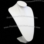 Necklace Jewelery Display Bust - L - White