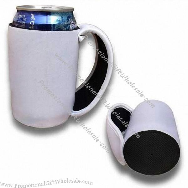 Can Cooler Holder ~ Neoprene beer koozie can cooler stubby holder with handle