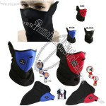 Neoprene Black Thermal Fleece Half Face Mask