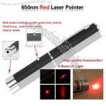 New 5mw 650nm Powerful Red Beam Laser Pointer Pen