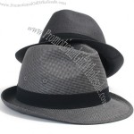 New Constructed Trilby Fedora Mens Womens Gangster Hat