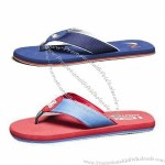New Flip-flops, Textile Upper, High-quality EVA and TPR Outsole