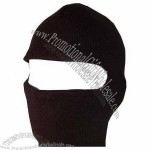 New One Hole Face Ski Mask - Black