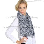New Polyester Yarn-dyed Scarf