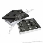 New stainless steel ice cube tray, BPA-free
