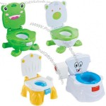 New Style Cartoon Baby Plastic Toilet With Music Settings