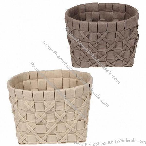 Non Woven Basket : New style real craft nonwoven felt basket china suppliers