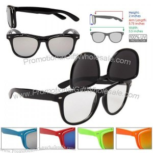 new wayfarer style flip up sunglasses china wholesaler