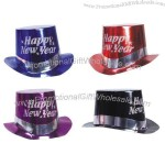 New Year Top Hats In Metallic Colors