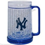 New York Yankess MLB 16 Oz Crystal Freezer Mug