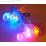 Newest LED Flashing Baby Nipple Whistle Pacifier