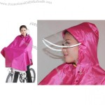 Night Viewing Reflective Safety Bicycle Poncho
