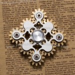 Nine Gear Linkage Fidget Spinner