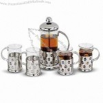 Nine-piece Coffee Cup Set