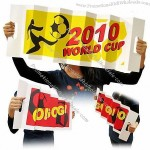 Noisy Clapping Hand Cardboard Banners