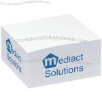 "Non Adhesive Paper Cubes 3 1/2"" x 1 3/4"" x 3 1/2"