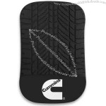 Non-slip gel grip mat clings to your dash or console. Grips phone, glasses and more