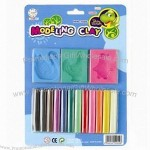 Non-Toxic Small DIY Plasticine Modeling Polymer Clay with Clay Tool