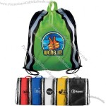 Non-Woven Reflective Drawstring Backpack(1)