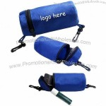 Nonwoven Cylinder Pouch with Two Hooks