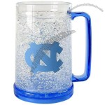 North Carolina Tar Heels Crystal Freezer Mug