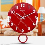 Northern Europe Simple Swing the Wall Clock
