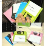 Nostalgia Retro 3.5 in. Floppy Disk Sticky Notes Notepad Notebook Disk-it